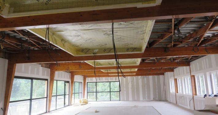 rénovation plafond tendu